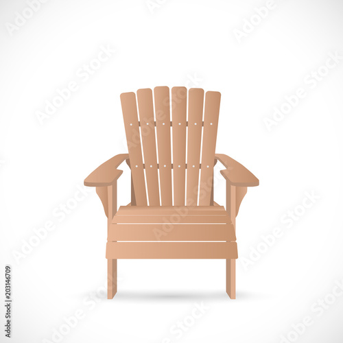 Adirondack Chair Illustration - Buy this stock vector and ...