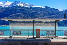 Panoramic View Of Brienz Stati...