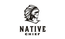 American Native Indian Chief H...