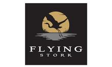 Flying Stork Heron Bird On Riv...