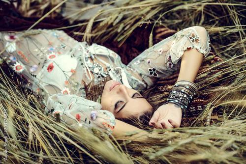 Poster Gypsy modern boho style