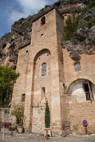 In de dag Cyprus L'église troglodyte de Peyre
