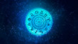 canvas print picture - Zodiac astrology signs for horoscope