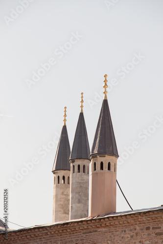 Papiers peints Con. Antique Fine example of ottoman Turkish tower architecture