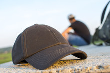 Travel Cap And Backpack Photographs