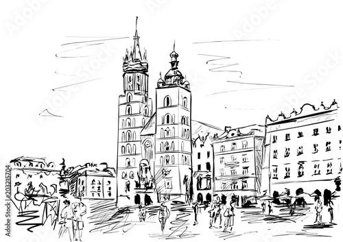 Fototapeta Krakow obraz