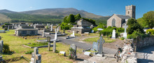 Cimetière Irlandais Sur La Pininsule De Dingle