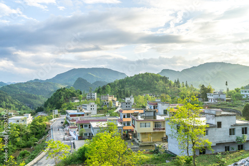 krajobraz w górach