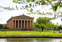 The Parthenon In Nashville, Te...
