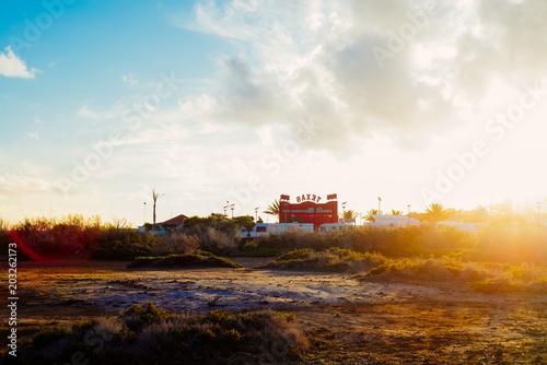 Sunset, Corralejo, Fuerteventura, Canary Islands