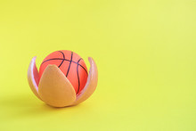 Small Basketball Ball In Form ...