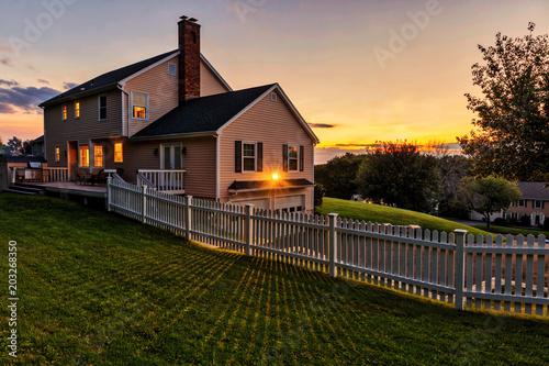 Fényképezés  Colonial house