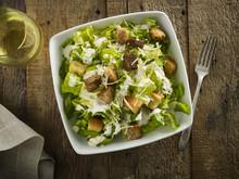 Caesar Salad With Wine