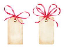 Blank Watercolor Gift Tags Wit...