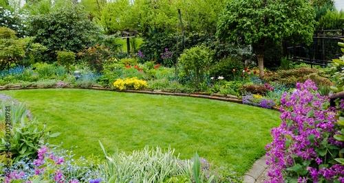 Papiers peints Jardin Gartenanlage