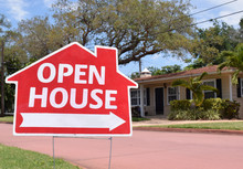 Open House Real Estate Sign In...