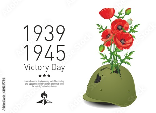 Papel de parede  Victory Day_poppies