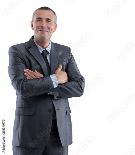 Fototapeta  portrait of a successful businessman.i