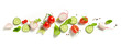 canvas print picture - various fresh vegetables