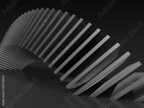 Fototapety czarne - bardzo ciemne czarne-plyty-przestrzeni