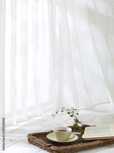 Valokuva  レースカーテン
