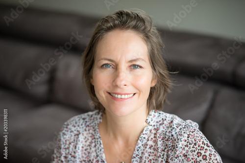 Fotografie, Obraz  portrait de femme