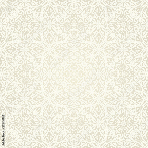 Seamless Background Baroque Style Light Beige Color Vintage Pattern Retro Victorian Ornament In Damascus Style Elements Of Flowers Leaves Vector Illustration Buy This Stock Vector And Explore Similar Vectors At Adobe,Safflower Seeds Vs Sunflower Seeds