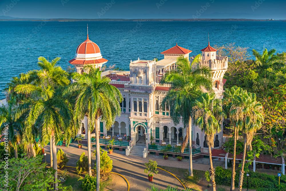 Fotografija  Palacio de Valle in Cienfuegos, Cuba