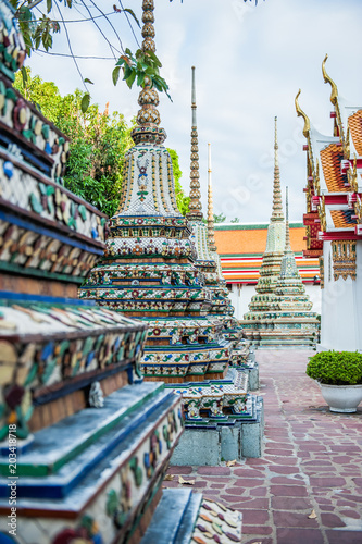 Photo  Temples Bangkok, Thailande