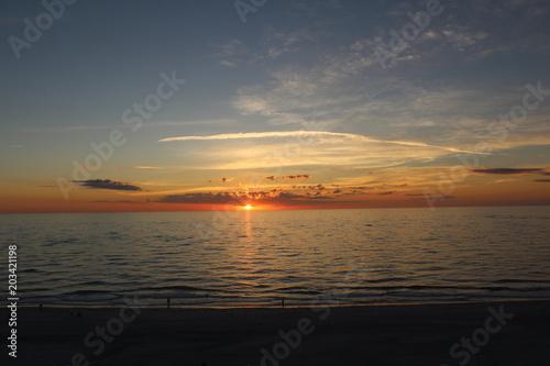 Sunset St Pete Beach Florida Canvas Print