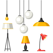 Set Of Lamps. Furniture Chande...