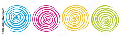 Printed kitchen splashbacks Spiral spirale0305d