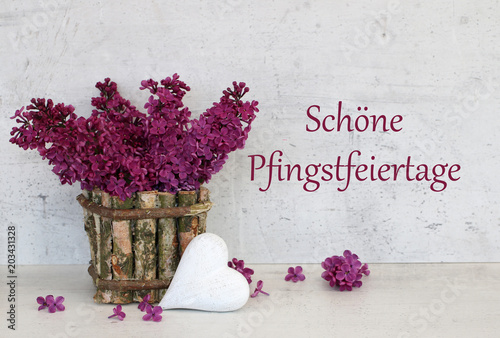 Fotografía Schöne Pfingstfeiertage
