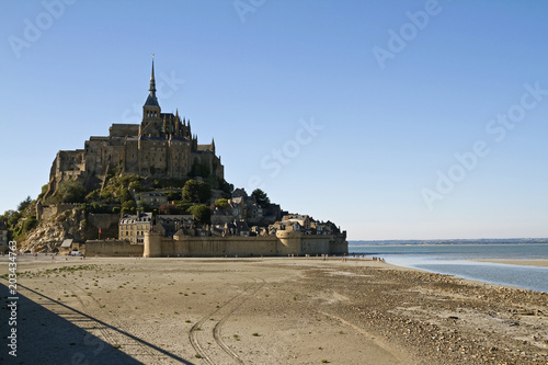 Abbaye du Mont-Saint-Michel плакат