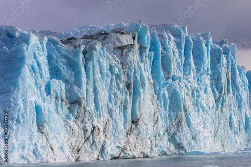 Printed kitchen splashbacks Glaciers Panorama of the Perito Moreno Glacier