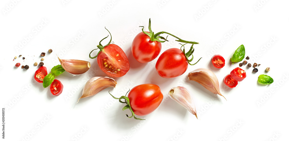 tomatoes and spices