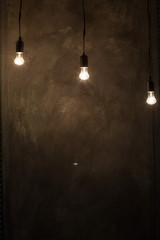 lightbulb on wall background