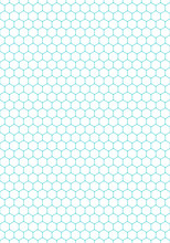 Seamless Pattern Hexagon Shapes Texture