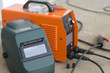 The welding equipment,protection mask,mobile welding machine.Construction industrial equipment.