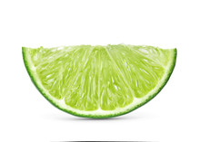 Lime Isolated On White Backgro...