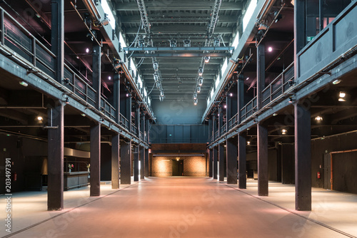 Event Location Motorwerk Berlin Slika na platnu
