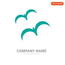 Three Seagulls Company Logo Design