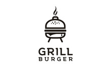 Grilled Burger With Kettle Cha...