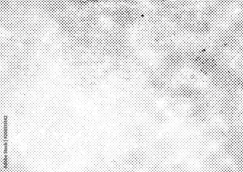 Fototapeta grunge halftone vector print background