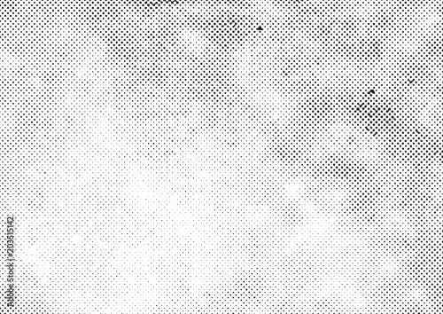 Valokuva  grunge halftone vector print background