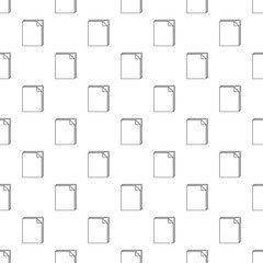 Paper pattern vector seamless repeating for any web design