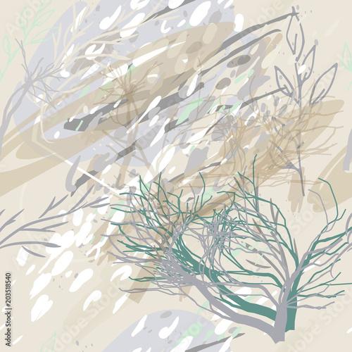 wzor-wojskowy-militarny-kamuflaz-w-ciemne-drzewa-i-krzewy