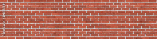 Background texture of red brick wall - 203519598