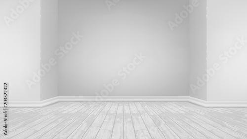 Fototapeta 3D Modern Bright Interior Background obraz na płótnie