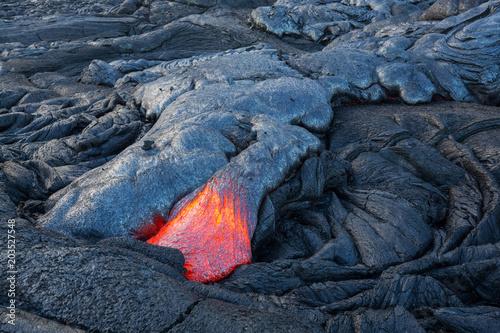 Spoed Fotobehang Vulkaan Active volcano